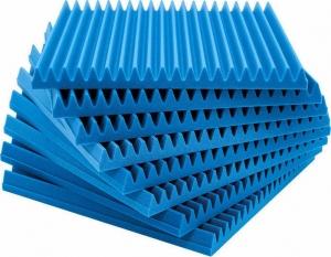 EQ Acoustics Classic Wedge 60 Tile – Blue Ηχοαπορροφητικό Αφρού 5cm- 60cm x 60cm x 5cm [8 Τεμx]