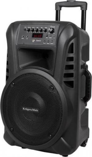 Kruger&Matz -KM1712.Φορητο Ενεργο Ηχειο 40 W (Με 2 Ασυρματα Μικροφωνα UHF, SD, Bluetooth, FM, USB)
