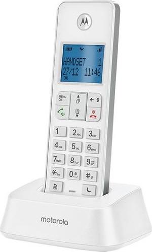 Motorola IT.5.1X White Ασύρματο τηλέφωνο με φραγή αριθμών, ανοιχτή ακρόαση και do not disturb