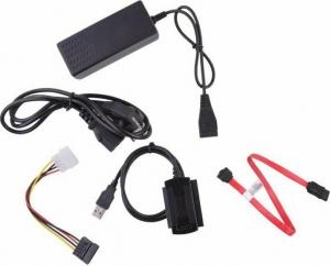 Μετατροπέας USB σε IDE 2.5 ή 3.5 + SATA - DM-1993