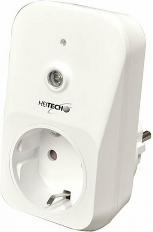 HEITECH SOCKET WITH AUTOMATICAL INTERVAL TWILIGHT SWITCH HEI002273