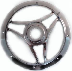 Climax XS12BAGR Σίτα μεταλική (ΝΙΚΕΛ) για subwoofer 12''