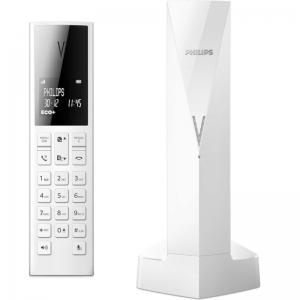 Philips M3501W/GRS Λευκό (Ελληνικό Μενού) Ασύρματο τηλέφωνο