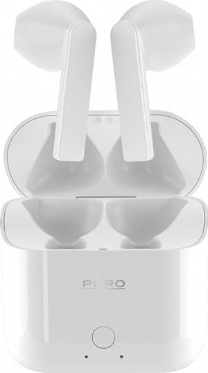 Puro Icon Pods Earbud Bluetooth Handsfree Λευκό