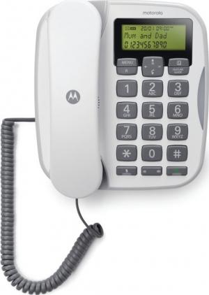 Motorola CT510 GR Ενσύρματο τηλέφωνο με μεγάλα πλήκτρα, ανοιχτή ακρόαση και LED