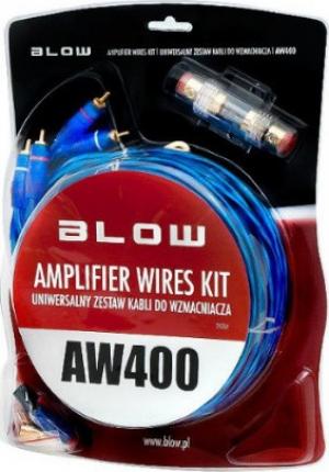 Blow AW-400 Σετ Καλώδια για ενισχυτή αυτοκινήτου.4AWG.