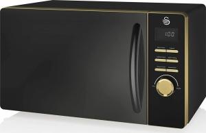 Swan 800W Digital Microwave – Φούρνος μικροκυμάτων Μαύρος