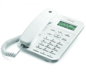 Motorola CT202 Λευκό Ενσύρματο τηλέφωνο