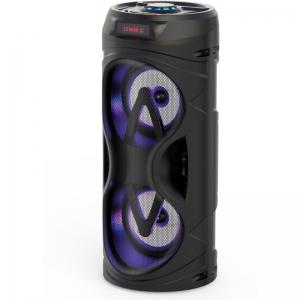 Akai ABTS-530BT Φορητό ηχείο 2.0 Bluetooth karaoke με TWS, USB, LED και micro SD – 10 W