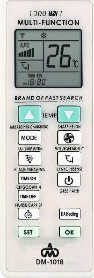 DM-1018 Universal τηλεκοντρολ κλιματιστικού