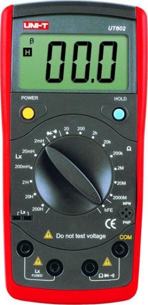 UNI-T UT602. Πηνιομετρο- Μετρηση Αντιστασης