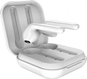 Puro Slim Pods Earbud Bluetooth Handsfree Λευκό