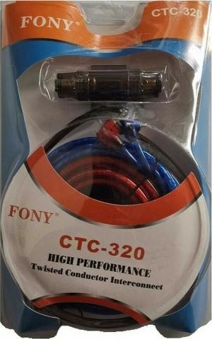 CTC-320 Σετ Καλωδίων Ενισχυτή Αυτοκινήτου