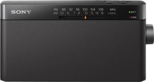 Sony ICF-306 Φορητό Ραδιόφωνο Μπαταρίας Μαύρο