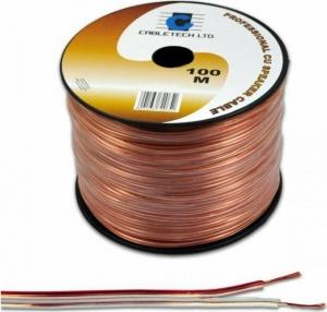 Cabletech  DM-0325K.Καλώδιο Ηχειων 100m κουλούρα 2x2.50mm