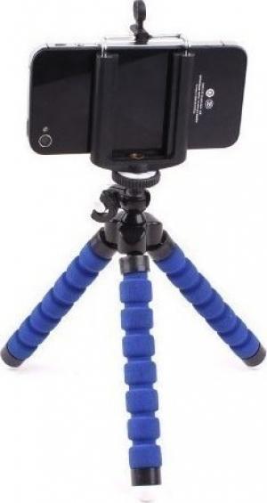 Kruger&Matz KM1366-BL Τρίποδο κινητού τηλεφώνου/κάμερας μπλε
