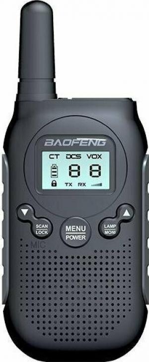 Baofeng BF-T6 Ασύρματος Πομποδέκτης   Μαύρος