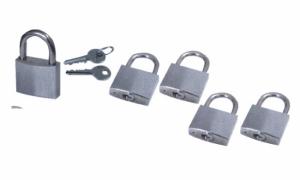 Ανοξείδωτη κλειδαριά 4cm
