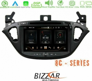 Bizzar Pro Edition Opel Corsa E Tablet Style Android 10 8Core Multimedia Station