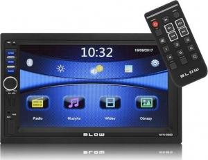 Blow AVH-9880 Ραδιόφωνο αυτοκινήτου GPS 7''-BT-USB-SD