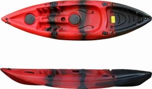 SCK Conger RYM03-CG Red/Black Μονοθέσιο καγιάκ ψαρέματος - Κόκκινο/Μαύρο