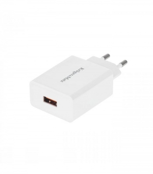 Kruger & Matz Quick Charge 3.0 Φορτιστής USB Λευκος