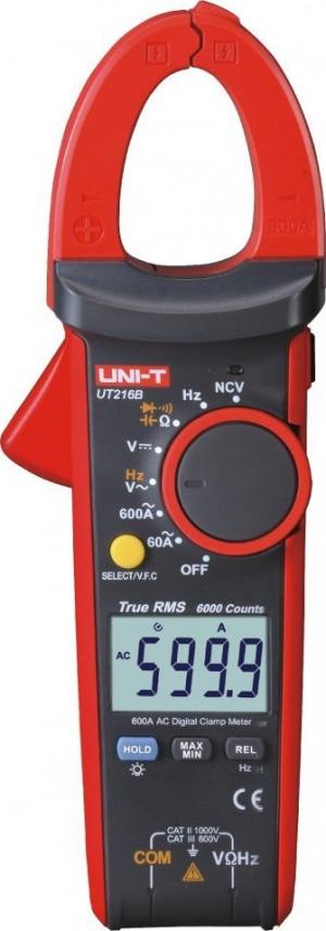 Uni-T UT216B Αμπεροτσιμπιδα ψηφιακη 600A