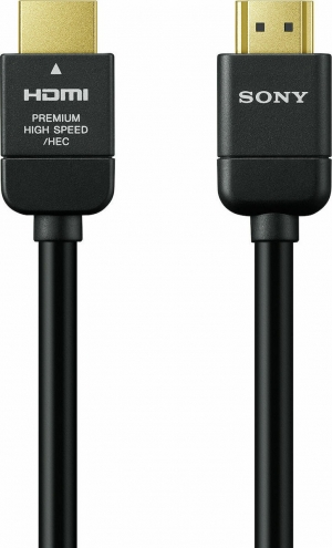 Sony DLC-HX10 Premium High-Speed HDMI Cable with Ethernet (1.0m)