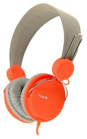 Havit HV-2198d Grey/Orange Καλωδιακά Ακουστικά