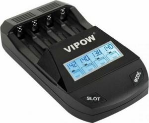Vipow BAT2010 Smart φορτιστής μπαταριών με οθόνη