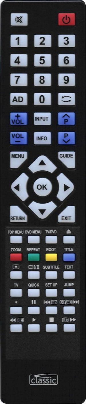 CL-IRC87116 Classic τηλεχειριστήριο για Toshiba LCD-TV