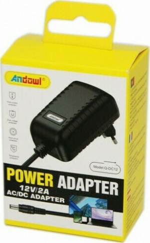 ANDOWL QDC13 Hi-Power Adapter 12V/2A