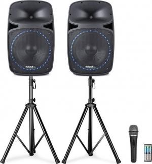 Ibiza sound PKG15A-SET ενεργά ηχεία 15''.500W.