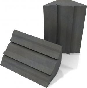 EQ Acoustics Project Trap – Grey Ηχοαπορροφητικό [Μπασοπαγιδα] Αφρού 60cm x 30cm x 30cm [2Τεμχ]