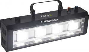 STROBE80LED.Led stobe. 4 x 20W from Ibiza Light
