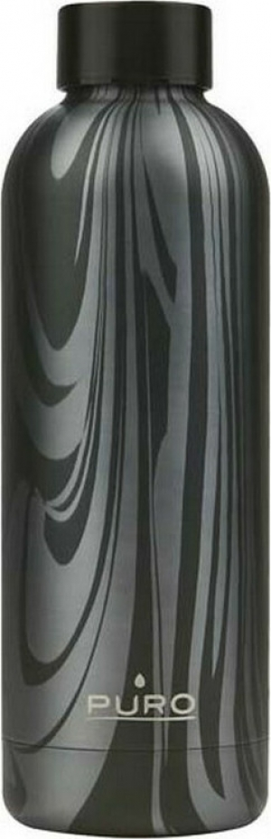 Puro Hot Cold Fluid Bottle 500ml – Μαύρο
