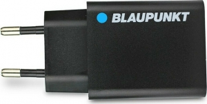 Blaupunkt 2.4A USB Wall Adapter Μαύρο BP-WCAB-24A