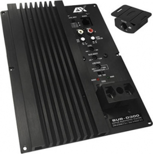 ESX SUB D 300.Ενισχυτης μονοκαναλος 600w 2 Οhm