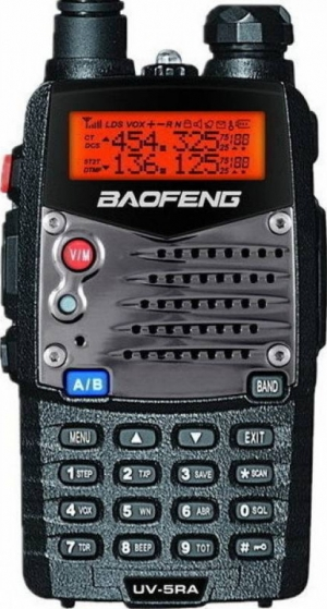 Baofeng UV-5RA Aσύρματος Dual Band πομποδέκτης VHF/UHF + Hands-Free