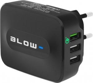 Blow BG-76-001 Φορτιστής 3x USB Wall Adapter Μαύρο