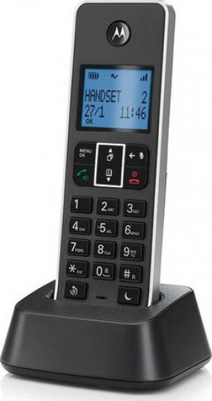 Motorola IT.5.1X Black Ασύρματο τηλέφωνο με φραγή αριθμών, ανοιχτή ακρόαση και do not disturb
