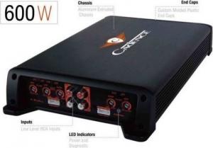 Cadence Q Series Amplifier Q2404 Τετρακάναλος Eνισχυτής 4ch.600w.