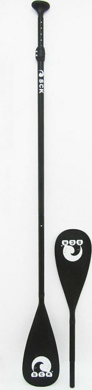 SCK PDL4-2N1 Mαύρο Κουπί SUP/Καγιάκ αλουμινίου 2 σε 1