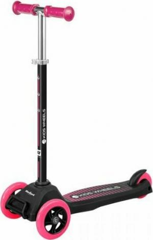 Rebel ZAB0121P Τρίτροχο Πατίνι Scooter Μαυρο-Ροζ
