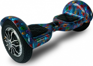 Skateflash K10 Skull Bluetooth Hoverboard