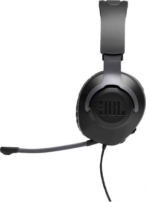 JBL Quantum 100 Black Over-Ear Wired Gaming Headset