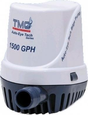 TMC -30615.Αυτόματη Ηλεκτρική Αντλία με Φλοτέρ 12V/1500GPH