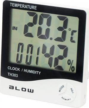 Blow TH-303 Θερμόμετρο - Υγρασιόμετρο - Ρολόι