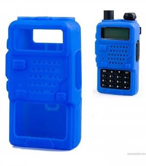 CASE-UV-5R.Θηκη για Baofeng UV-5R Μαυρο-κοκκινο-κιτρινο-μπλε.