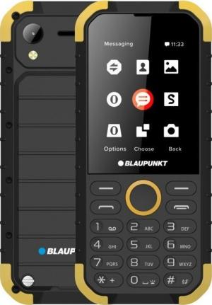 "Blaupunkt Sand (32MB) Black/Yellow Αδιάβροχο και ανθεκτικό Κινητό με κάμερα 1,2 MP με flash και LCD οθόνη 2,8"""